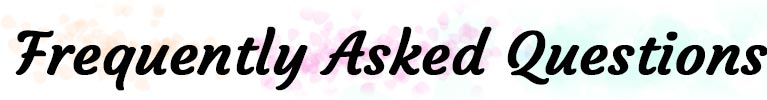 Frequently asked questions easy spells