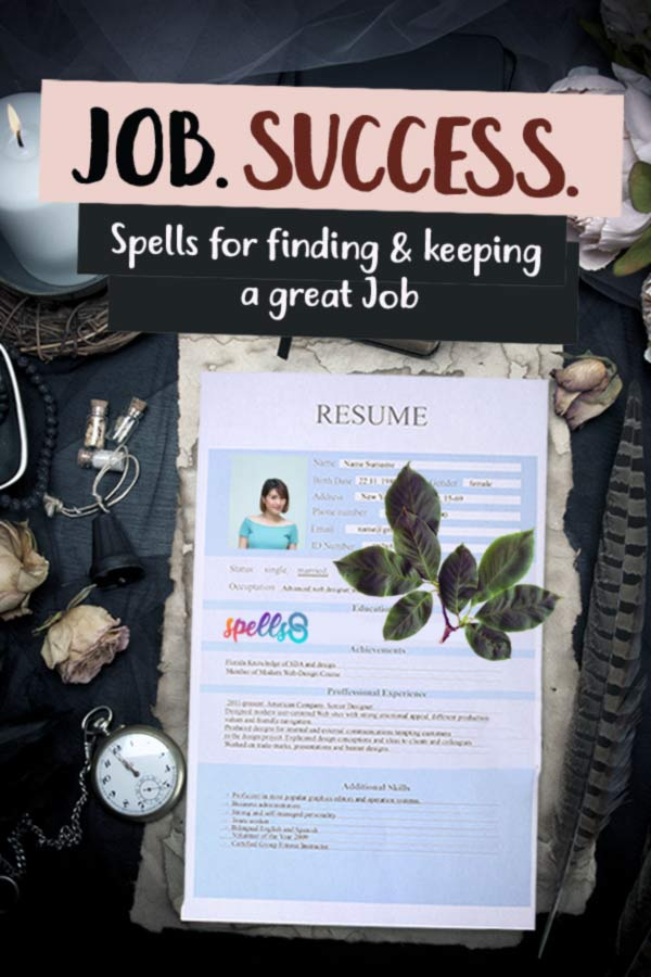 Tap to Pin it: Career Spells to Find a Job