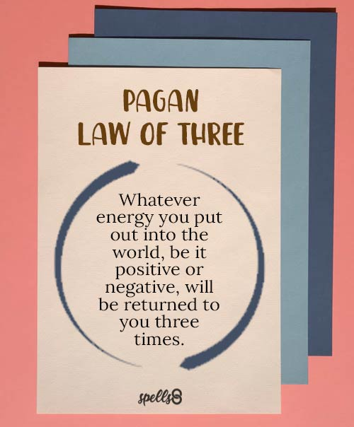 Pagan/Wiccan Law of Three
