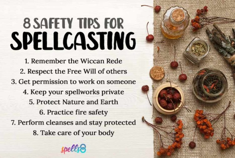 Protection and Safety Rules for Witches before Spellcasting