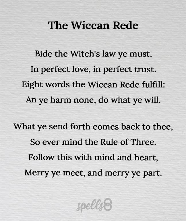 The Wiccan Rede