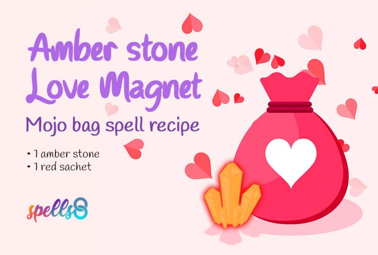 Love Spell Charm And Crystal
