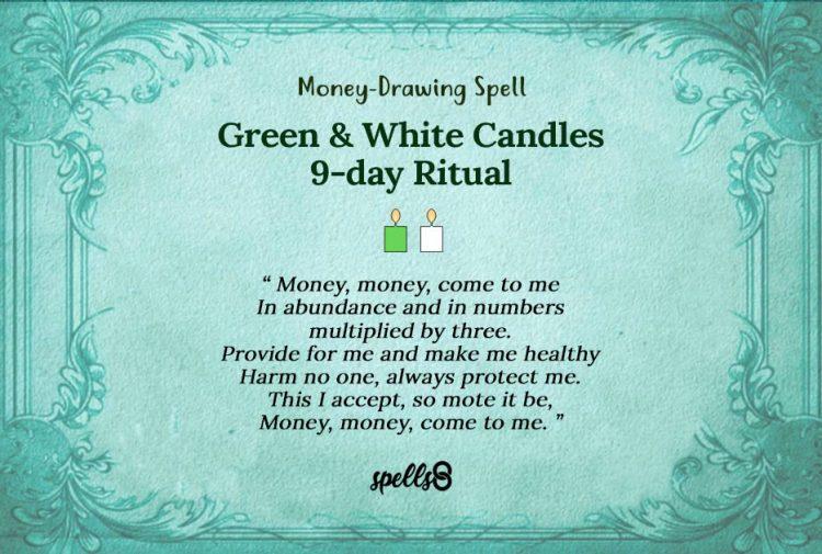 "9-Day Money-Drawing (""Novena"") Spell"