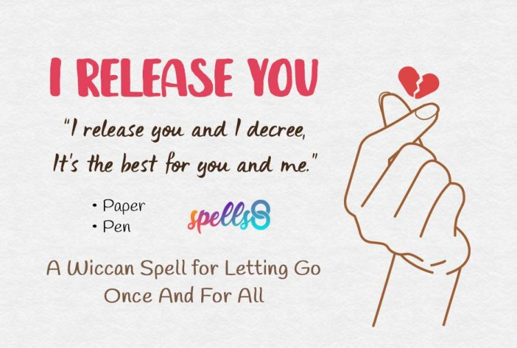 ▶️ 'I Release You': A Spell for Letting Go Once And For All