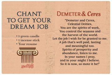 Wiccan Spell For Getting A Job | Spells8