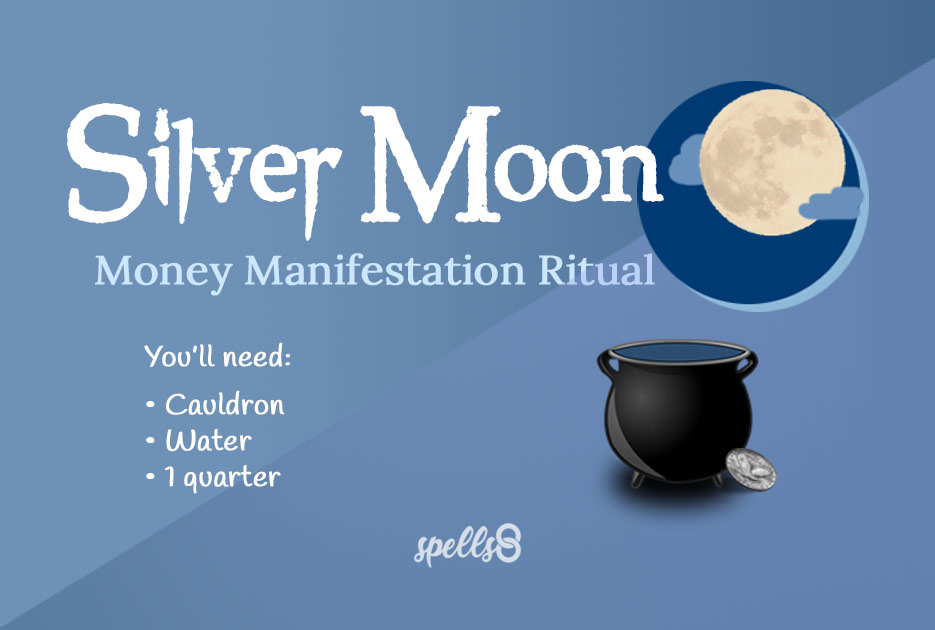 Wiccan Money Manifestation in the Full Moon