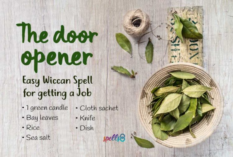 Wiccan Spell for Getting a Job