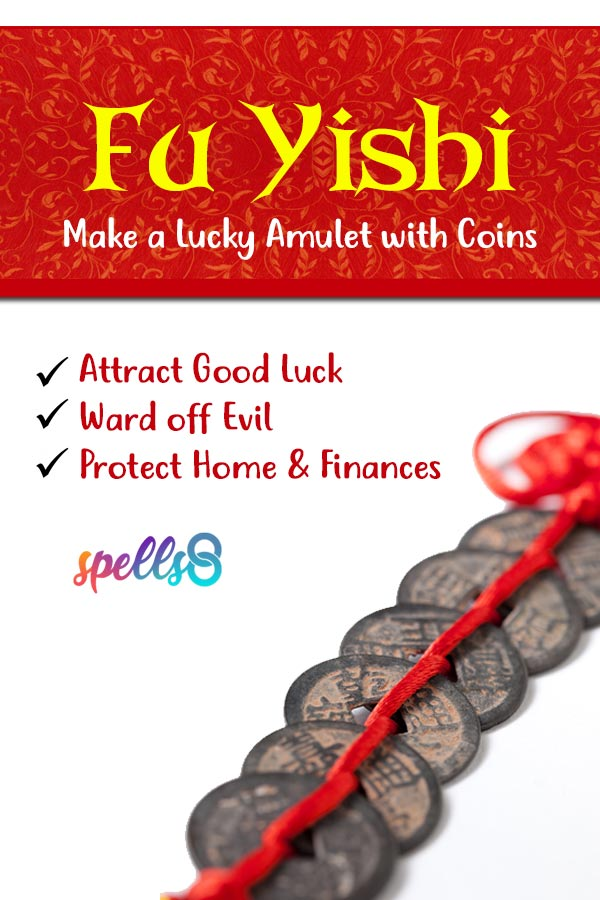 'Fu Yishi': A Lucky Amulet with Coins (Spell Recipe)