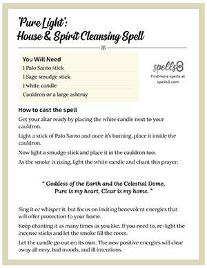 Pure Light House Spiritual Cleanse