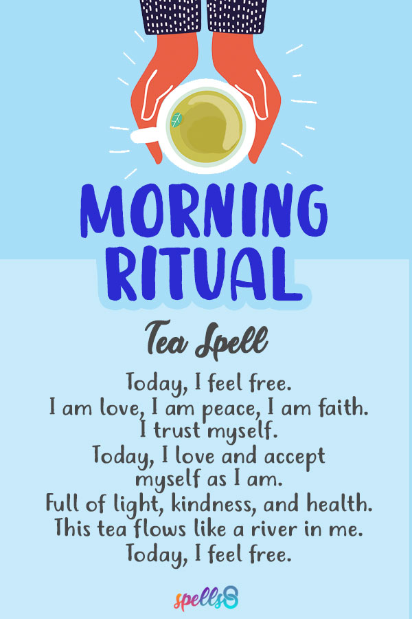 'Morning Tea': Daily Ritual & Self-Love Spell