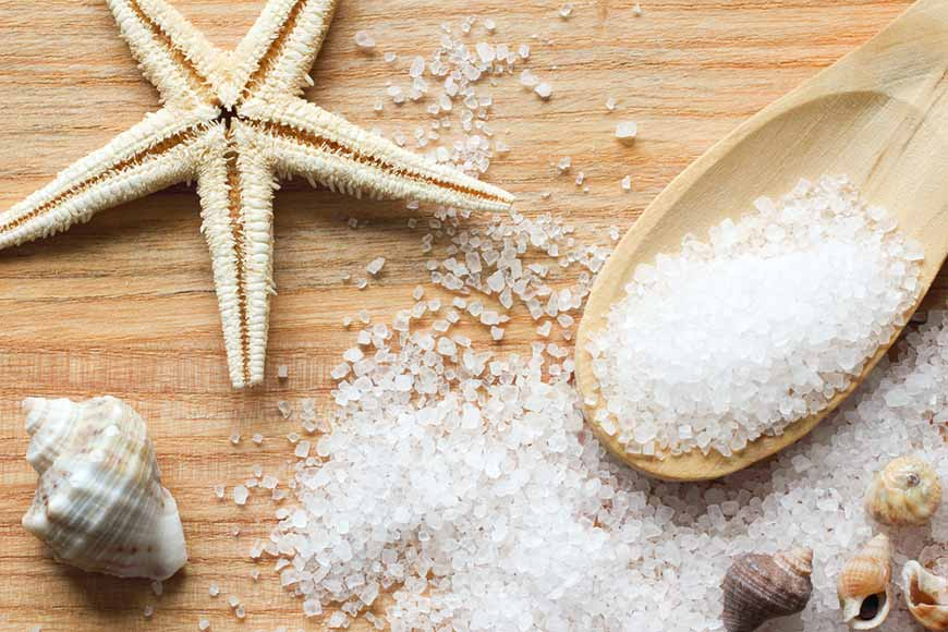 Try to use Sea salt for your spellcasting works