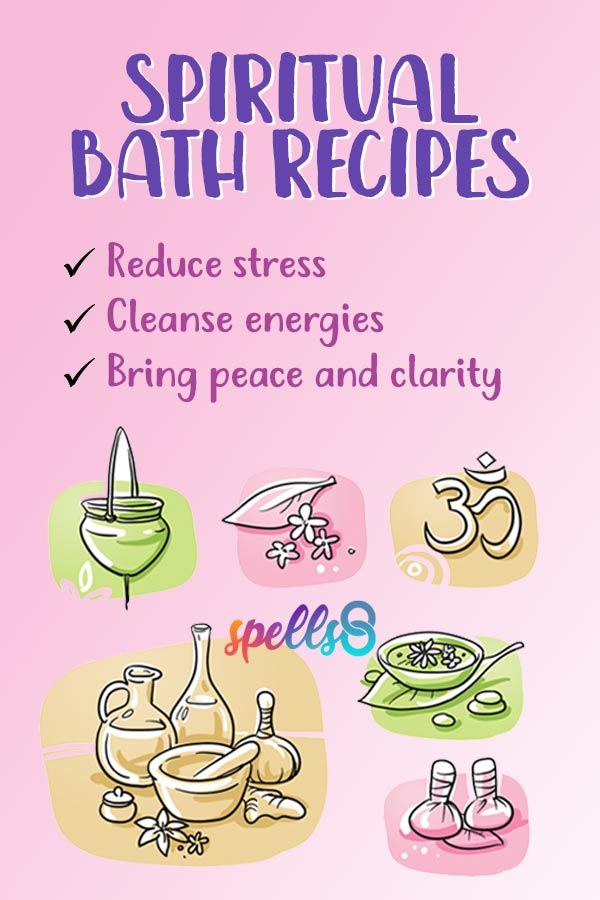Easy Guide to Spiritual Baths + Cleansing Recipes - Spells8