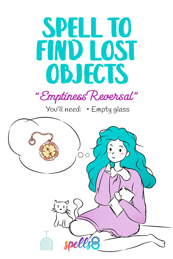 Find Lost Object Spell