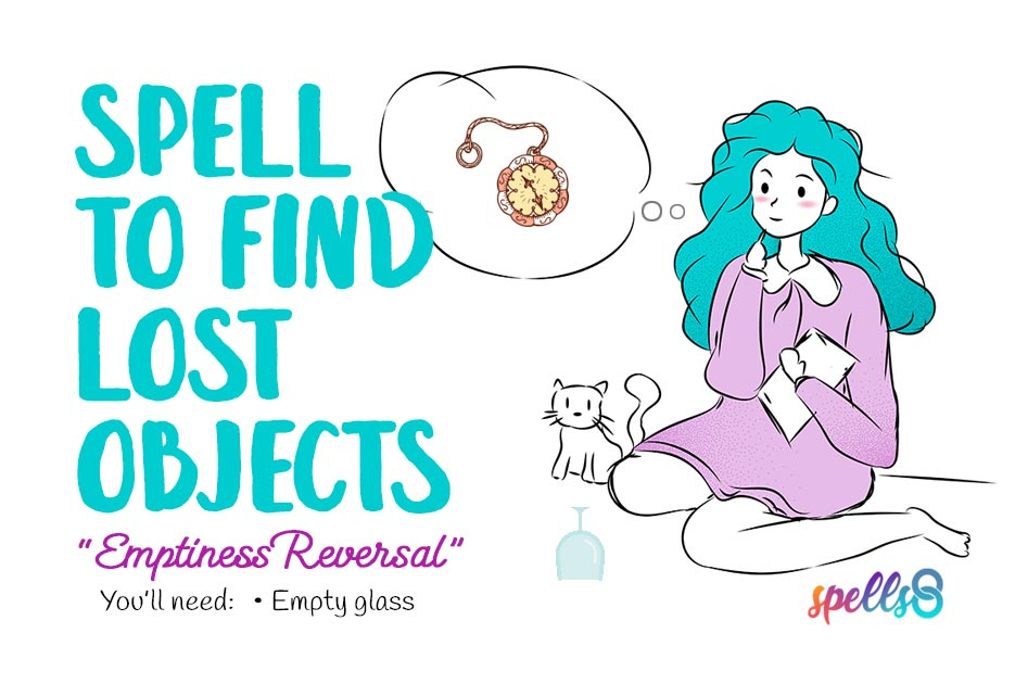 Spell to find lost objects