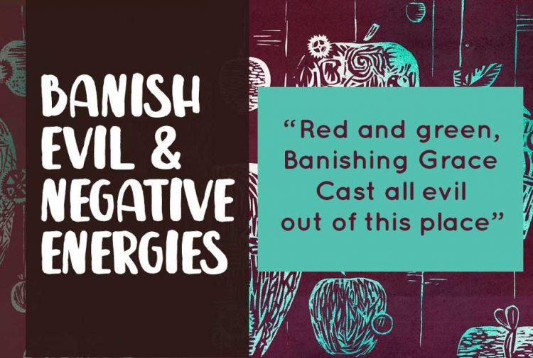 Banishing Spell to Remove Negative Energy