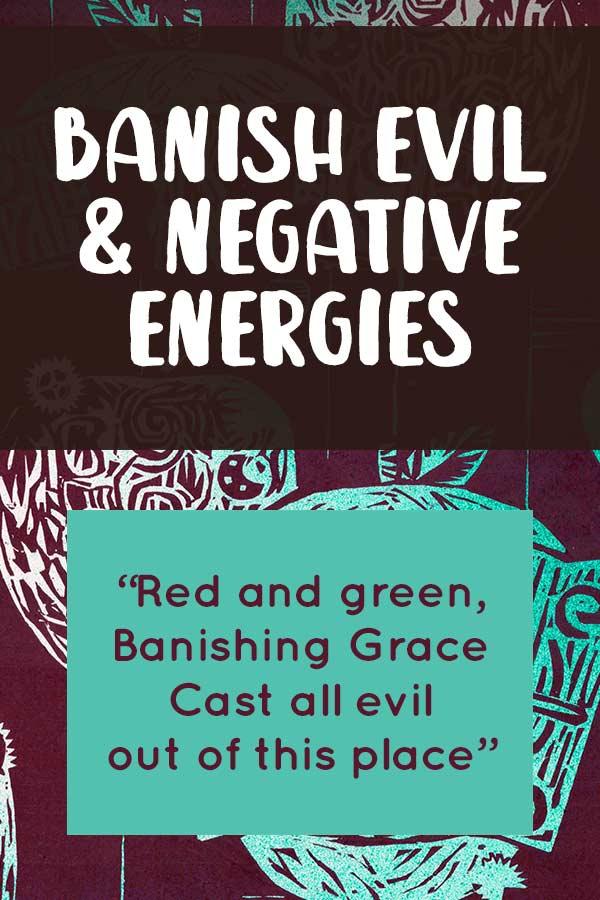 Banishing Spell to Ward Off Evil