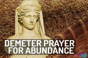 Demeter Daily Wiccan Prayer