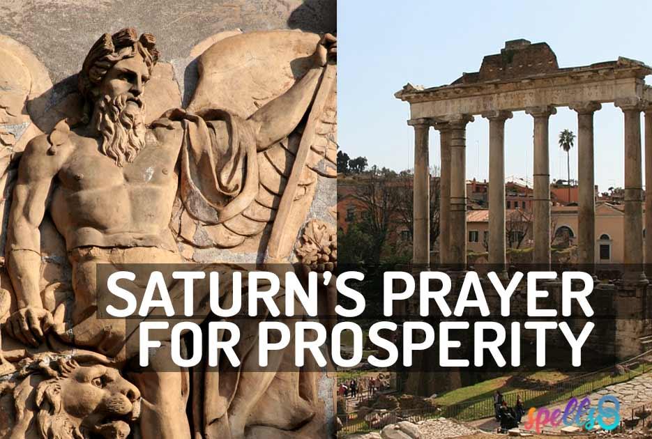 Saturn Wiccan Devotional Prayer