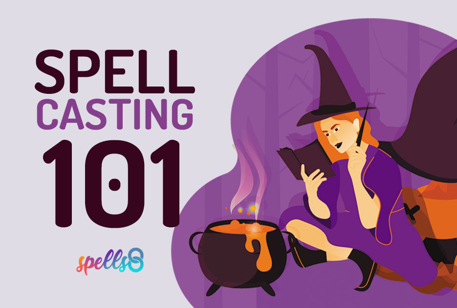 Spellcasting online course Witchcraft