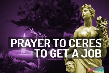 Wiccan Prayer to Ceres to Get a Job