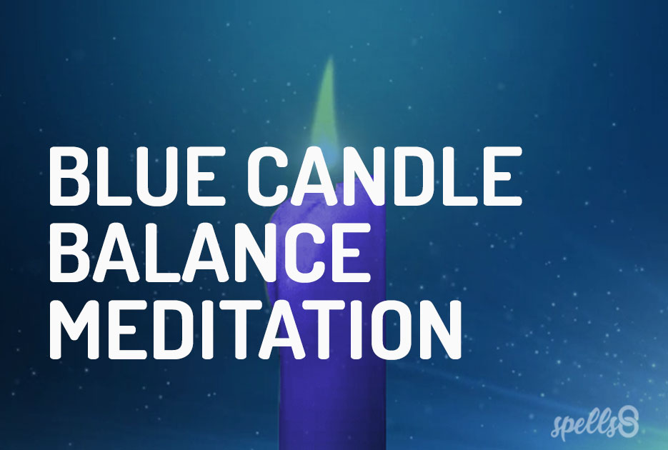 Blue Candle Balance Guided Meditation