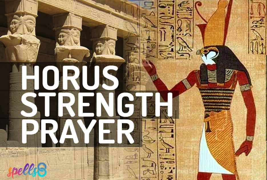 Horus Strenght Prayer Devotional