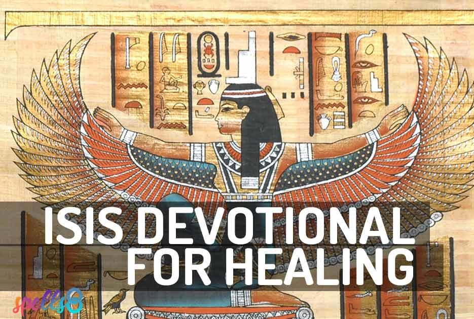 Isis Wiccan Devotional Prayer Healing