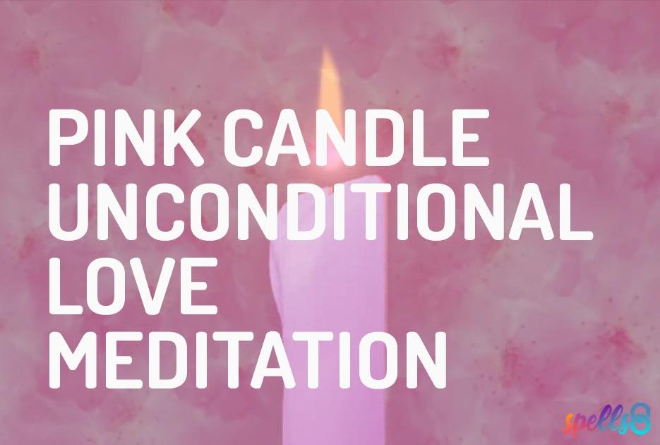 Pink Candle Love Meditation