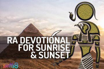 Egyptian Deities Devotionals | Spells8
