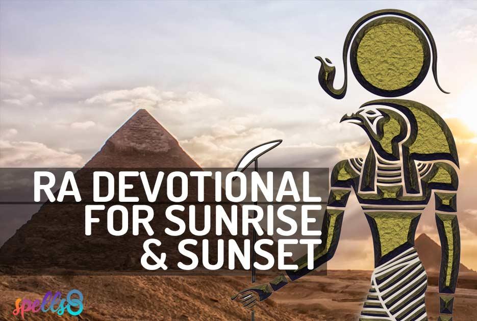 Ra Sun God Devotional Prayer