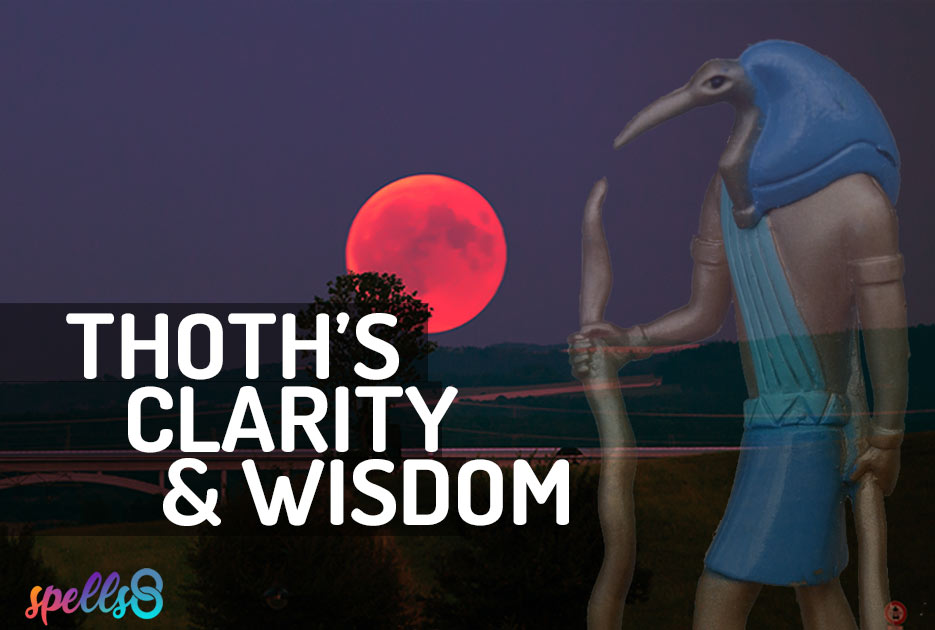 Thoth Devotional Wiccan Prayer