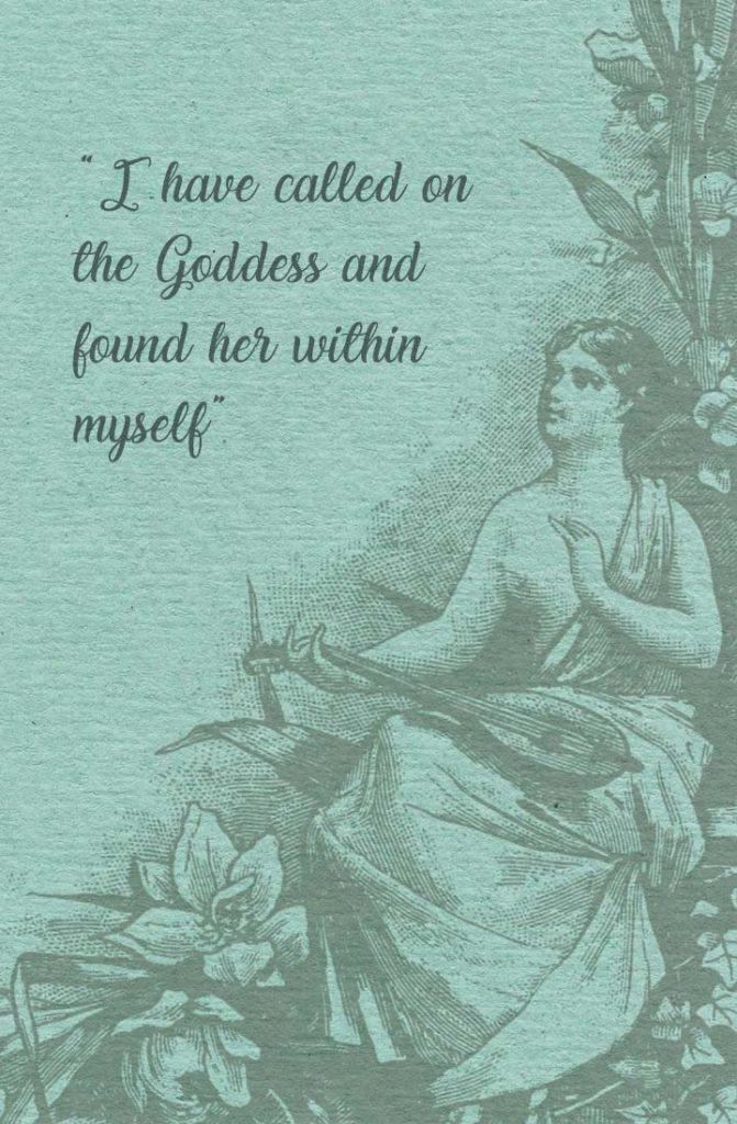 Goddess Within, Wiccan Wallpaper