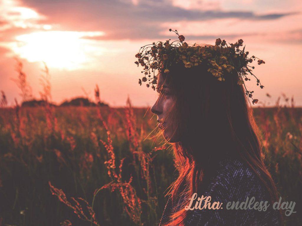 Litha, Summer Sabbat Wiccan Wallpaper
