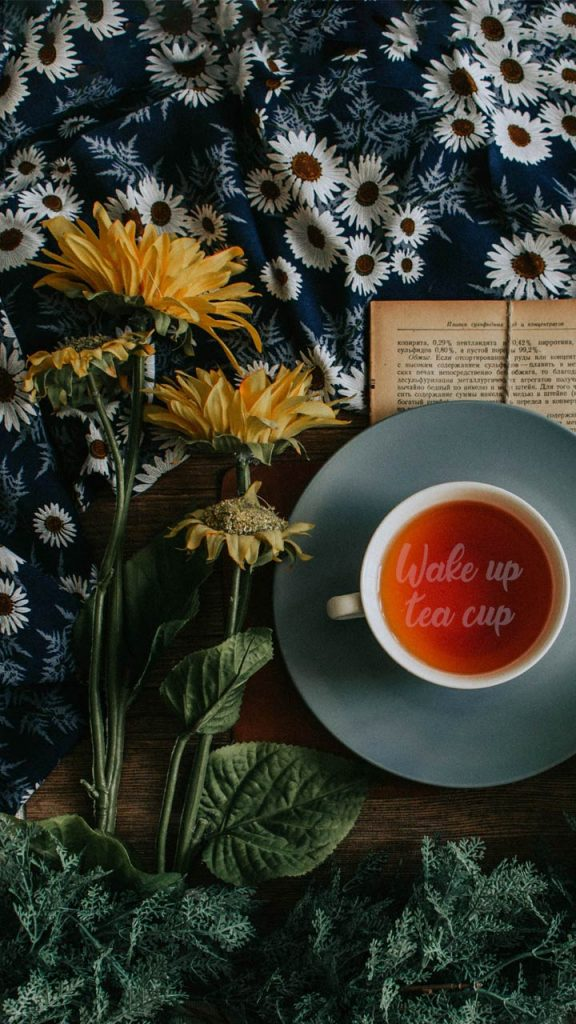 Tea Magick Wallpaper Wicca