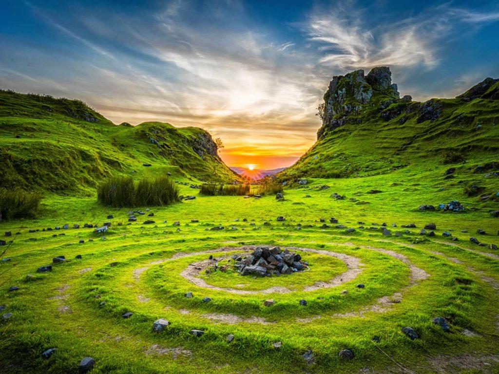 Wicca Landscape Wallpaper