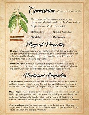 Cinnamon Magical Uses
