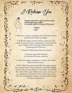 Wiccan Spell to Forget Someone