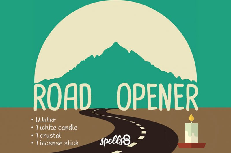 Road Opener Wiccan Candle Ritual
