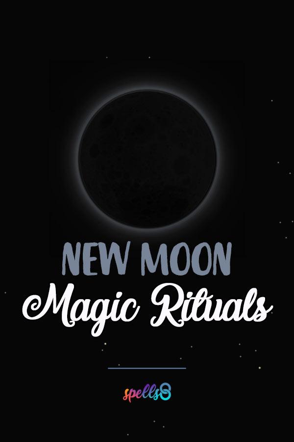 New Moon Wicca Ritual