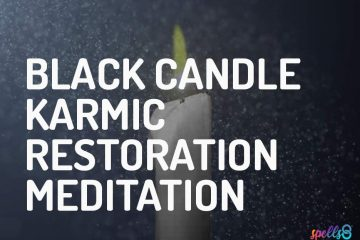 Daily Candle Wiccan Meditation