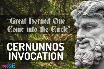 Cernunnos Wiccan Devotional Prayer