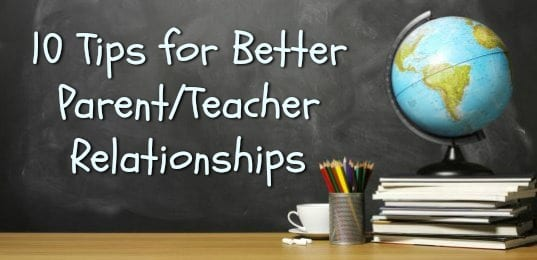 cultivating parent teacher relationships