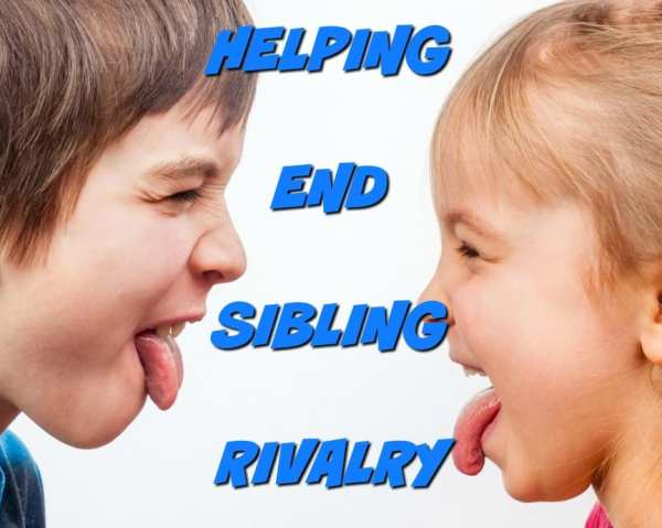 helping end sibling rivalry