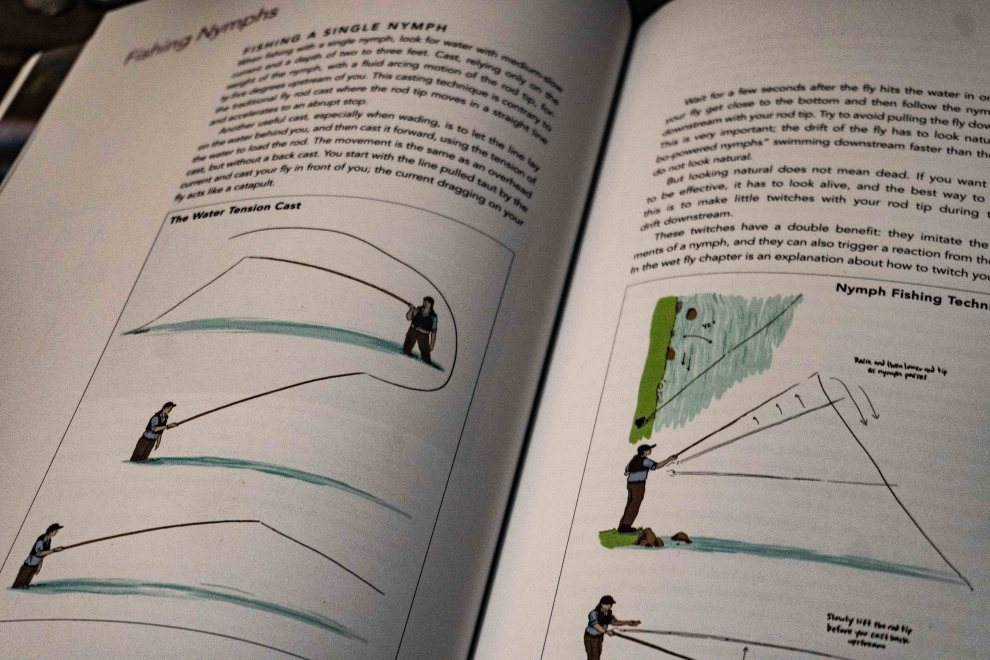 simple fly fishing diagram