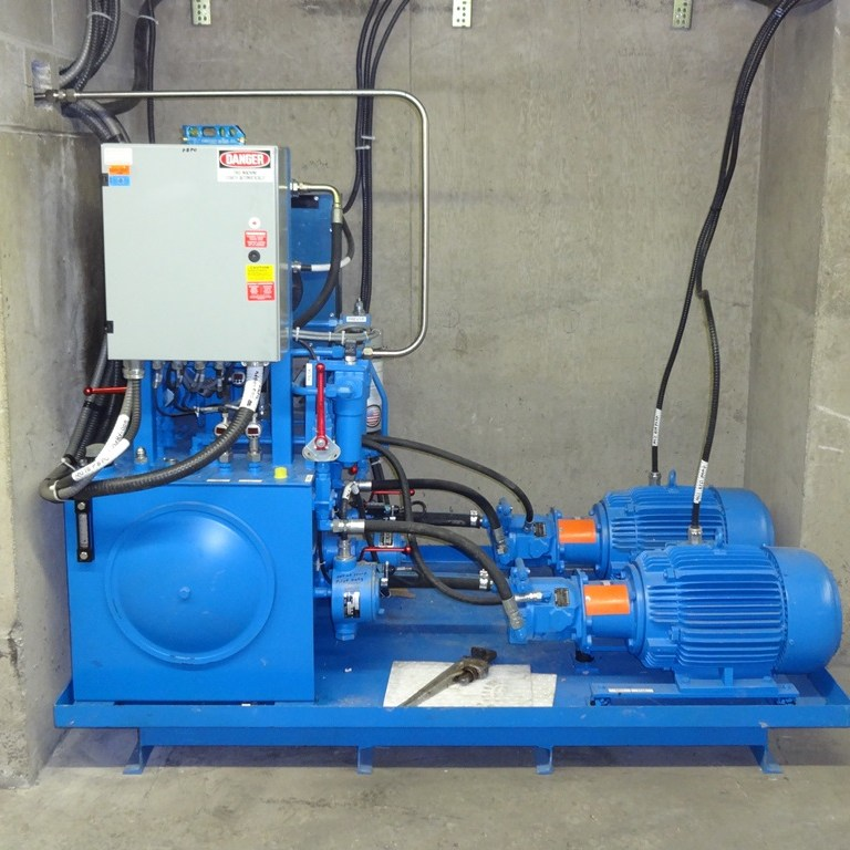 Hydraulic pump unit