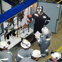 Customized training for mine hoist systems