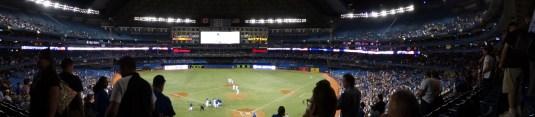 at Roger's Stadium