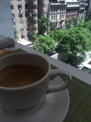 Espresso at MoMA Cafe