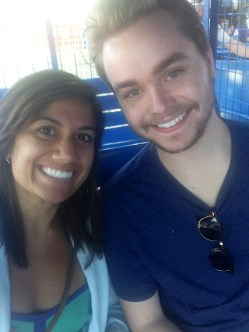 Ferris wheel selfie, Coney Island