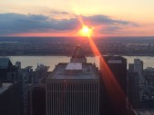 """Top of the Rock"" sunset"